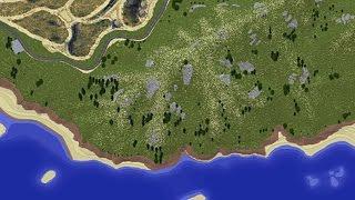 •GTA V in Minecraft #96 | Dat mountain. damn!