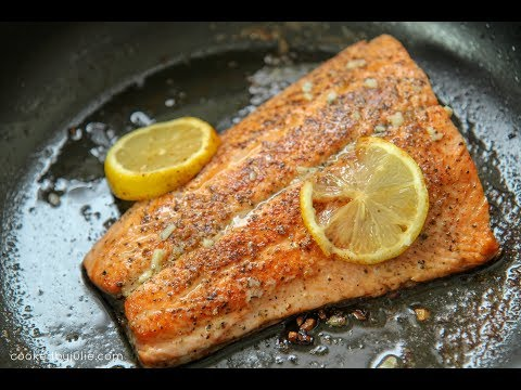 Pan Seared Lemon Butter Salmon - Ep 412