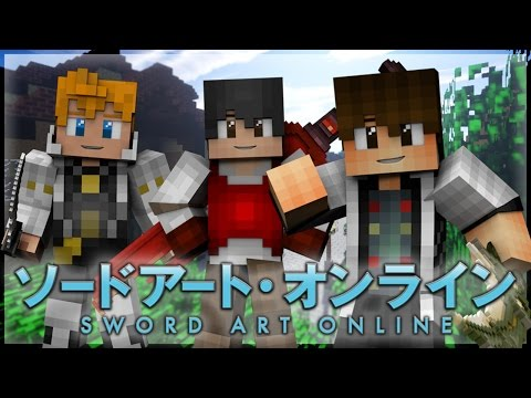 "Minecraft Sword Art Online Roleplay Episode 1 - ""Town Of Beginnings"" [Minecraft Anime Roleplay]"