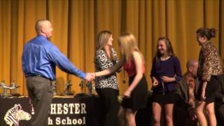 Rochester High School Winter Sports Awards 2013