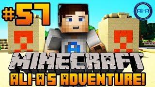 "Minecraft - Ali-A's Adventure #57! - ""SECRET TREASURE!"""