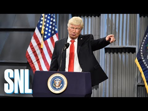 Donald Trump Trucker Rally Cold Open SNL