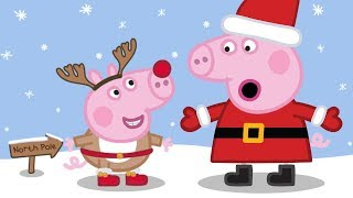 Peppa Pig en Español Capitulos Completos - Sol, mar y nieve - Episodios de Navidad- Dibujos Animados