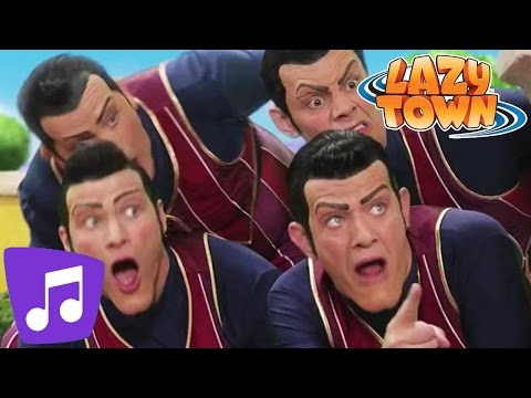 Lazy Town | We are Number One Music Video (видео)