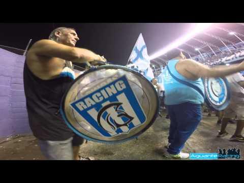 Copa Libertadores 2015 - Previa LGI Bombos y Estandartes - La Guardia Imperial - Racing Club