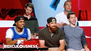 Video Dude Perfect Celebrate Their Epic Shots 🏀 | Ridiculousness | MTV MP3, 3GP, MP4, WEBM, AVI, FLV April 2019