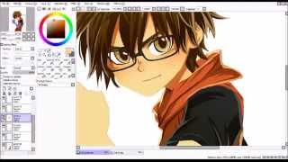 Timelapse -drawing Phil with SAI