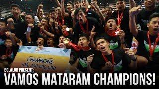 Video Short Film: Vamos Mataram Champions of Pro Futsal League 2017! MP3, 3GP, MP4, WEBM, AVI, FLV November 2017