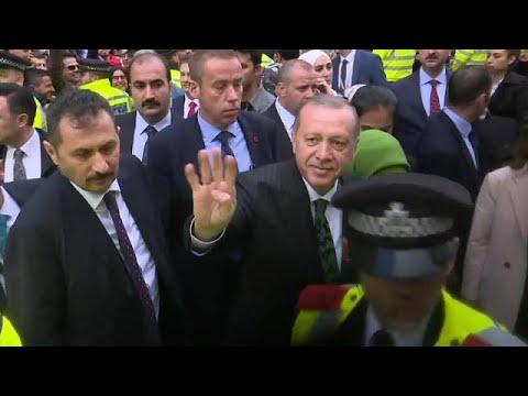 Präsident Erdogan zu Besuch in Großbritannien