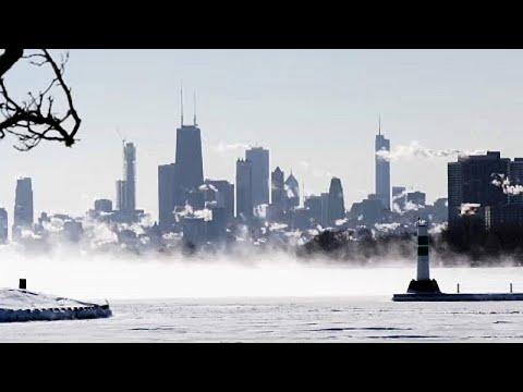 Extreme Kältewelle bis minus 40 Grad Celsius erfasst die USA