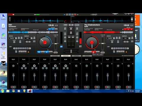 Virtual DJ Mix – The Chainsmokers – #Selfie vs. PSY – Gentleman