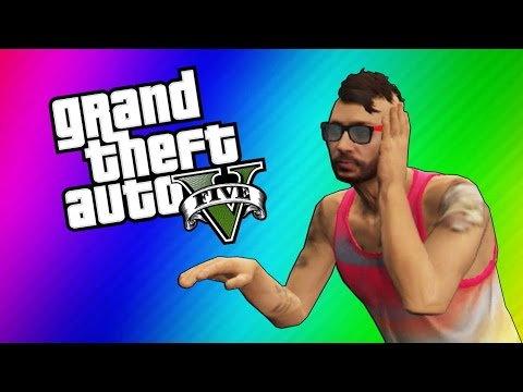GTA 5 Online Funny Moments – DJ Booth Glitch, Air Swimming, Special Handshake!