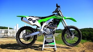 10. First Ride 2016 Kawasaki KX450F - Motocross Action Magazine
