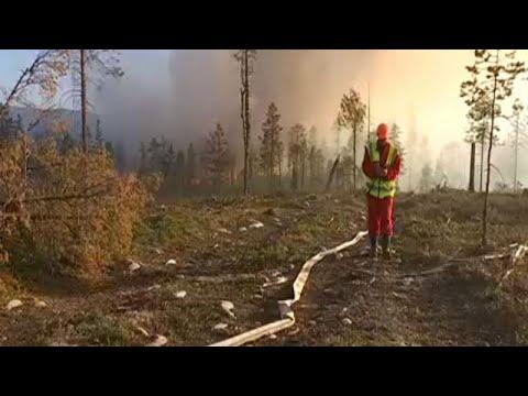 «Στις φλόγες» η Σουηδία-60 πύρινα μέτωπα