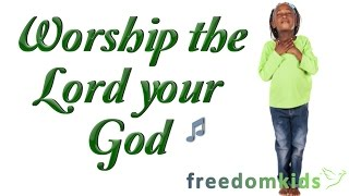 Freedom Kids Music Videos!  Christian kids praise & worship songs...teaching children the Word through music!WORSHIP THE LORD YOUR GOD (Luke 4:8)http://www.freedomkids.org/Freedom Kids is a Biblically based learning program that introduces children to Bible Words and Scripture.  Great teaching and learning resource for churches, parents and children.