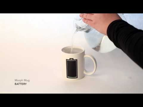 Kaffeebecher MORPH MUG BATTERY Video