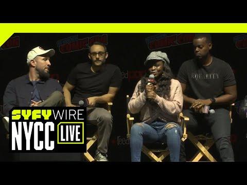 American Gods Cast And Crew Season 2 Breakdown   NYCC 2018   SYFY WIRE