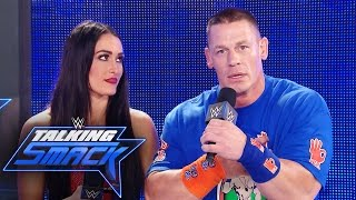 Nonton John Cena   Nikki Bella Respond To Being Made Fun Of By The Miz  Wwe Talking Smack  March 21  2017 Film Subtitle Indonesia Streaming Movie Download