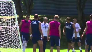 Chelsea Training Session In Bangkok