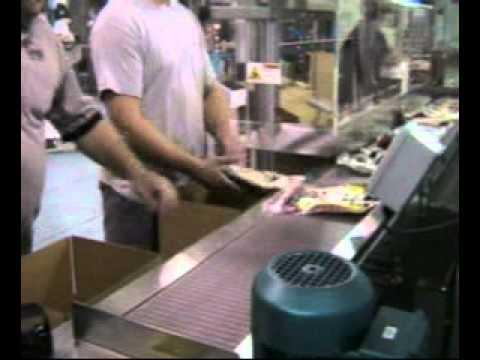 Ergopack Tortillas Hand Packing Station