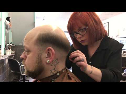 Full Length Hough's Video NEW Hair System Fitting