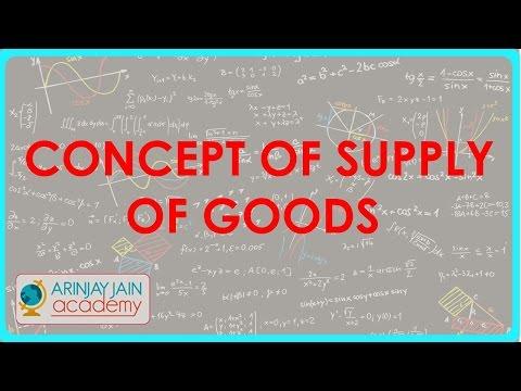 Konzept der Versorgung mit Gütern