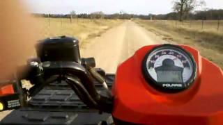 8. 2010 Polaris 500 H.O. Top Speed