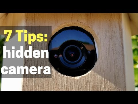How To Hide A Security Camera (Indoors Or Outside)
