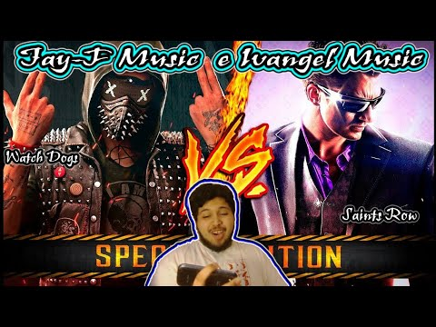 WATCH DOGS VS SAINTS ROW | BATALLA DE RAPLAY | IVANGEL MUSIC Ft. JAY-F MUSIC | Reaccion