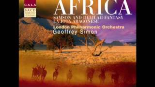 Samson and Delilah Fantasy La Jota Aragonese London Philharmonic Orchestra Geoffrey Simon.