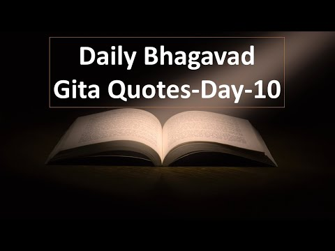 Happiness quotes - Daily Bhagavad Gita Quotes Day 10