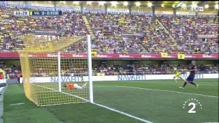 Villarreal - Barcelona Highlights HD 31.08.2014