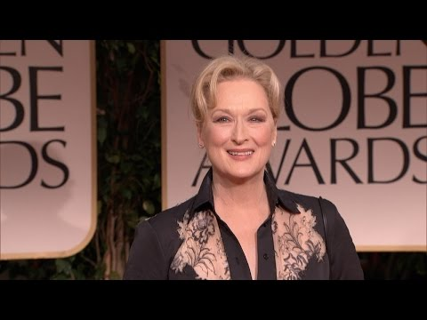 Here's Why Meryl Streep Is Queen of the Golden Globes (видео)
