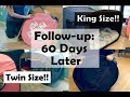Privacy Pop King Size/Twin Size Bed Tent Review Follow-Up: 60 Days Later!!