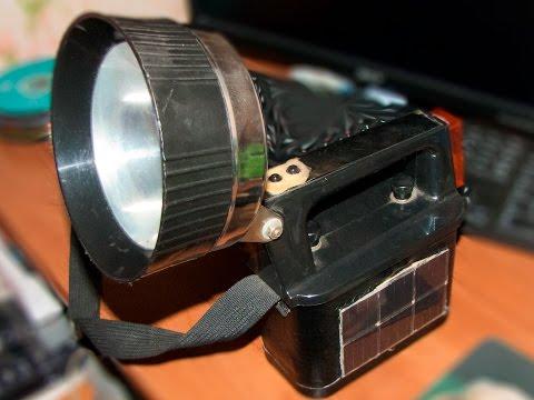 Как сделать кемпинговый фонарь своими руками