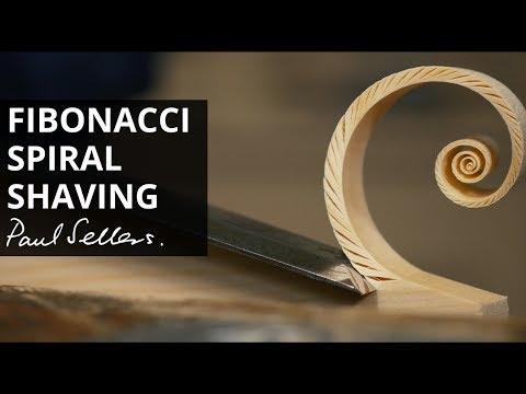 Carving Beautiful Fibonacci Shavings