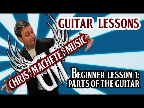 Parts of the Guitar. Beginner Lesson 1