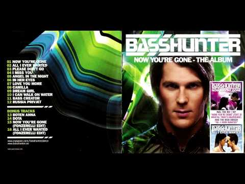 Basshunter Now You're Gone HQ & HD 2016