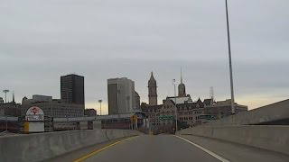 Tonawanda (NY) United States  city photos : Driving Through Downtown Buffalo, New York USA