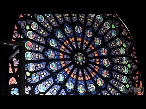 Recreating the North Rose Window of Notre-Dame