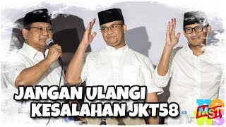 Video Melihat Anies, Sandi Uno, Prabowo Sekarang: Jangan Kita Ulangi Kesalahan JKT58 MP3, 3GP, MP4, WEBM, AVI, FLV Oktober 2018