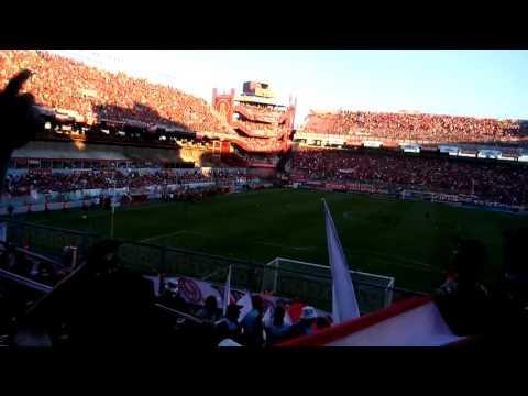 Recibimiento de independiente 1 vs racing 1 - La Barra del Rojo - Independiente