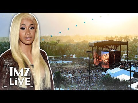 Cardi B's Baby Due This Summer, But She's Still Performing at Coachella   TMZ Live