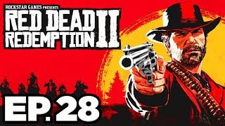 Red Dead Redemption 2 Ep.28 - RESCUING SEAN, COYOTE STEALS FROM PHOTOGRAPHER!! (Gameplay Let's Play)