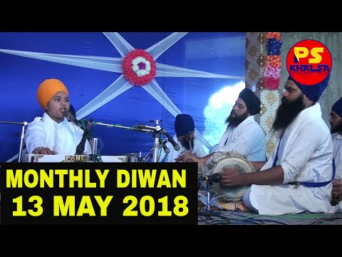 Video MONTHLY DIWAN 13 MAY 2018  Bhai Parampreet Singh Ji Khalsa Nathmalpur download in MP3, 3GP, MP4, WEBM, AVI, FLV January 2017