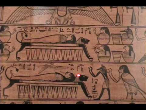 Book of the Dead of Neferini (Egyptian Museum Berlin, Germany)