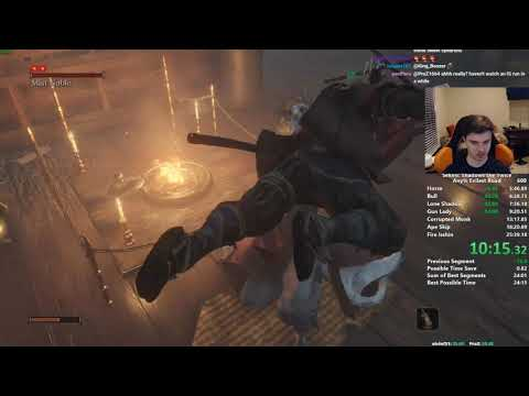 Sekiro Any% Speedrun In 24:55 (world Record)