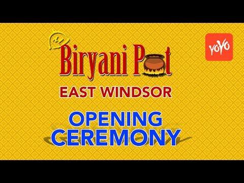 Biryani Pot Restaurant Grand Opening | East Windsor, New Jersey | YOYO TV Channel