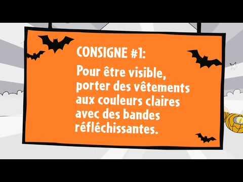 Les consignes de sécurité pour l'Halloween-Épisode 1