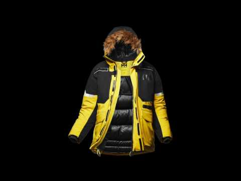 Expedition Parka by Helly Hansen featuring Light Flex - Winner of the ISPO Award 2017/2018